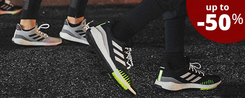 adidas Running Shoes up to -50%