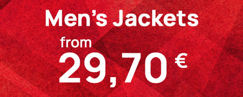 Men's Jackets from 29,70€