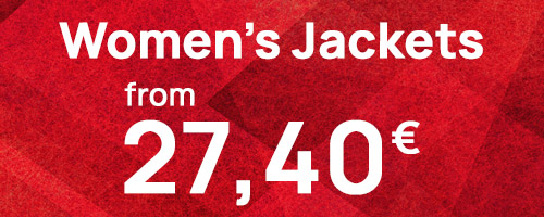 Women's Jackets from 27,40€