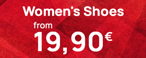 Women's Shoes from 19,90€